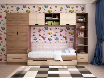 Детская комната Тетрис