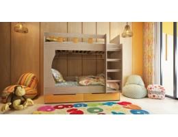 Кровать детская двухярусная Марли