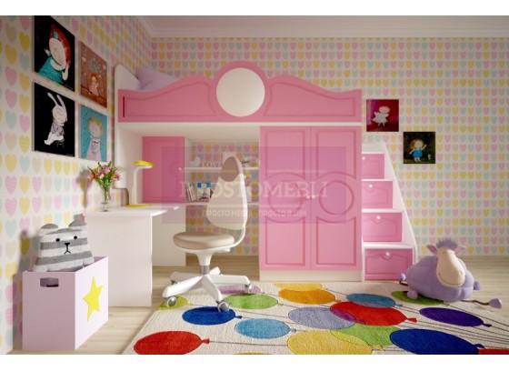 Кровать детская МДФ Престиж-2